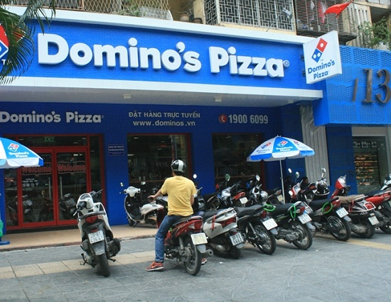 domino's pizza giảng võ