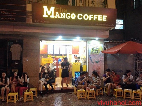 the mango coffee