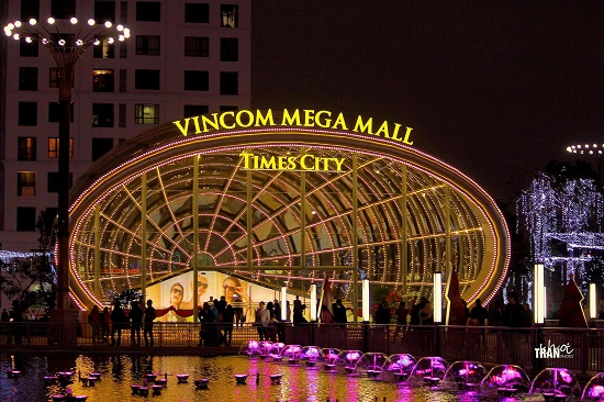 Vincom mega mall Times City