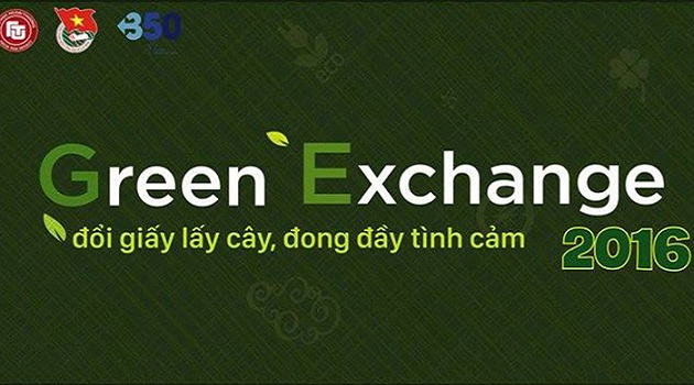 ngay hoi doi giay lay cay green exchange tai ha noi