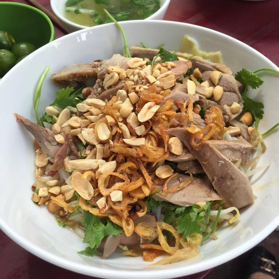 pho ga tron to hien thanh