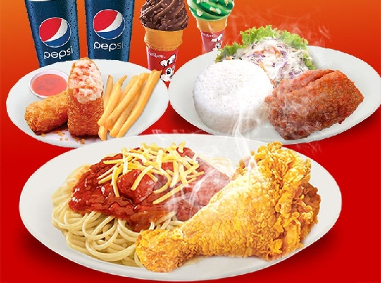 jollibee delivery tiện ích