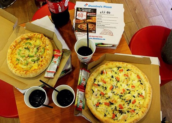 Domino's Pizza Cộng Hòa 5
