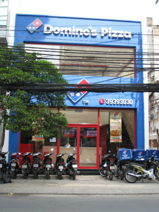 Domino's Pizza Cao Thắng rộng rãi