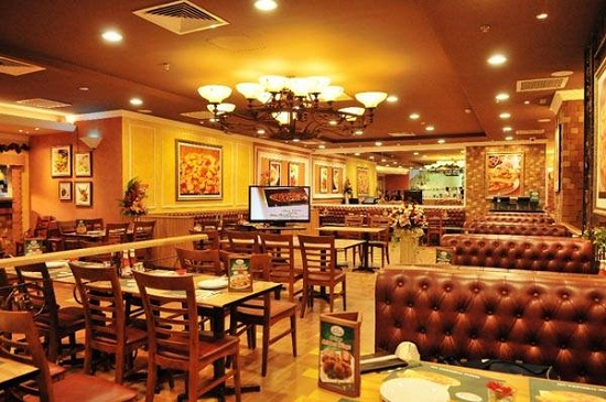 Thiết kế ở The Pizza Company Việt Nam